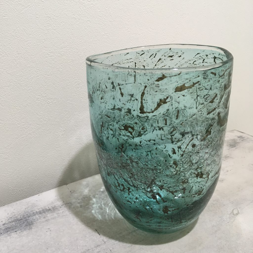 Marina turquoise glass